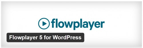 Flowplayer 5 for WordPress