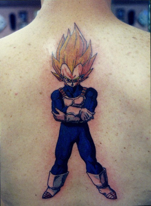 New Vegeta Strikes Back Tattoos