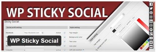 WP Sticky Social