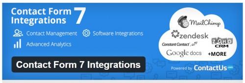 Contact Form 7 Integrations