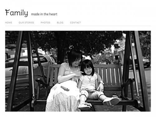 Responsive Family WordPress Theme