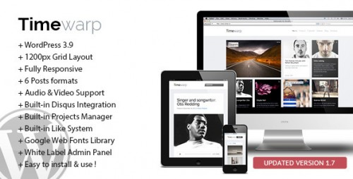 Timewarp - Responsive WordPress Theme