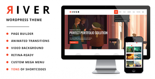 River - Retina Multi-Purpose WordPress Theme