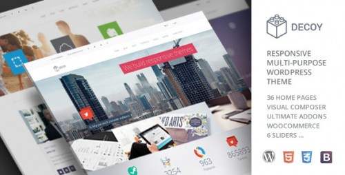 Decoy - Responsive Multi-Purpose WordPress Theme