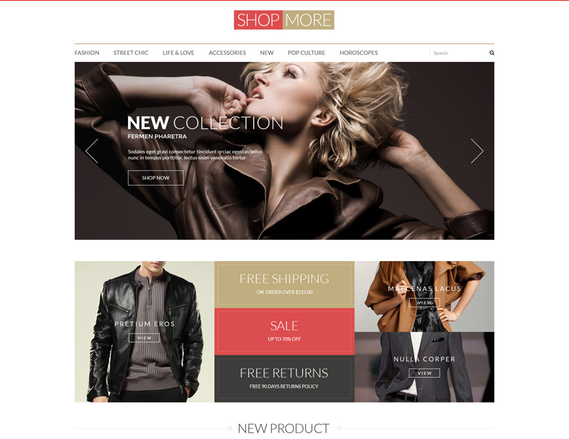 Free PSD Templates for eCommerce