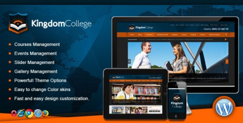 Kingdom College - Educational WordPress Theme