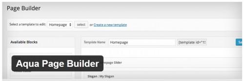 Aqua Page Builder