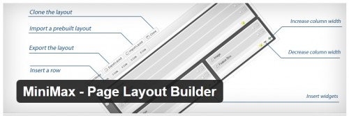 MiniMax - Page Layout Builder