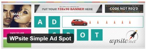 WPsite Simple Ad Spot