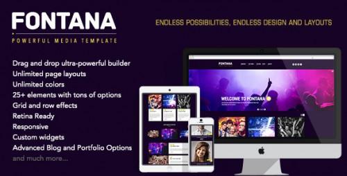 Fontana - Powerful Media WordPress Theme