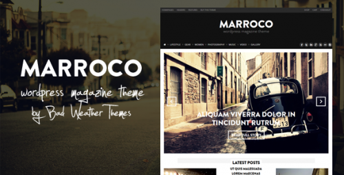 Marroco - WordPress Magazine Theme