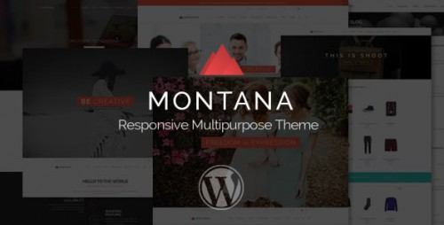 Montana - Responsive Multipurpose WordPress Theme