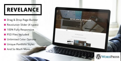 Revelance - Multi/One-Page Business Parallax Theme