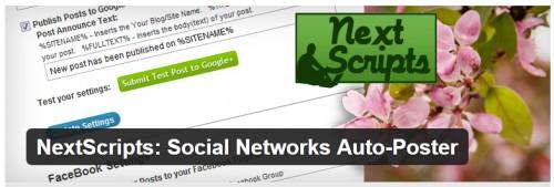 NextScripts - Social Networks Auto-Poster