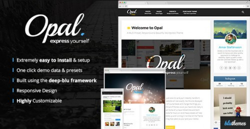 Opal - Multi Preset Responsive WordPress Theme