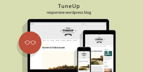 TuneUp - Responsive WordPress Blog Theme