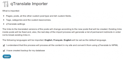qTranslate Cleanup and WPML Import