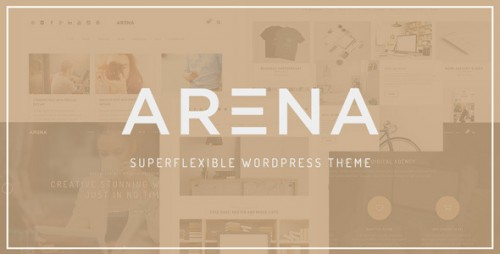 Arena Multipurpose WordPress Theme