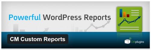 CM Custom Reports