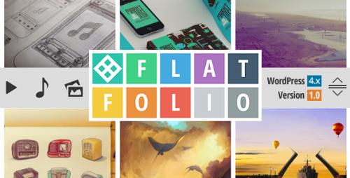 FlatFolio - Portfolio & Gallery