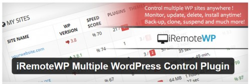 iRemoteWP Multiple WordPress Control Plugin