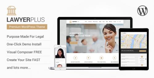 LawyerPlus - Legal Office WordPress Theme