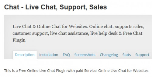 Chat - Live Chat, Support, Sales