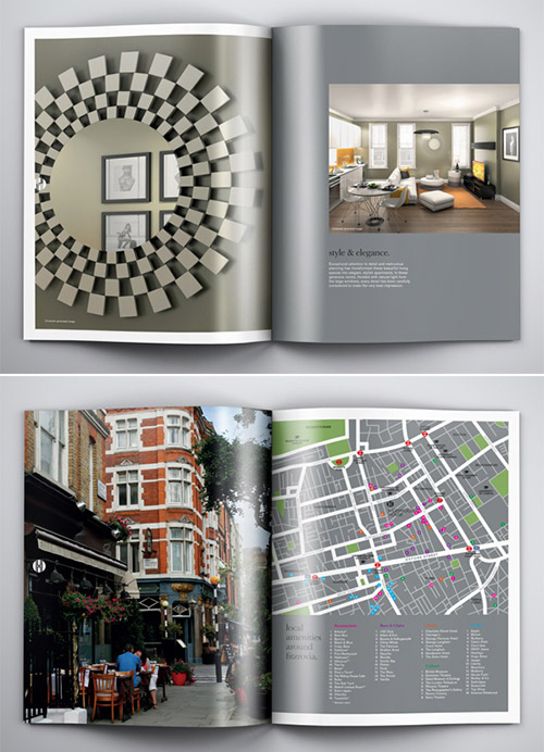 Highwood House - Brochure Design