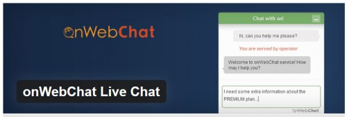 onWebChat Live Chat