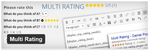 Multi Rating