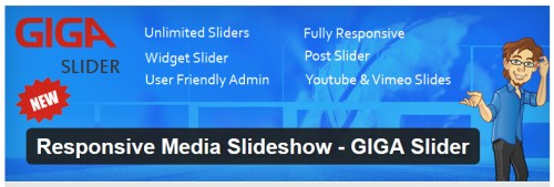 Responsive Media Slideshow - GIGA Slider
