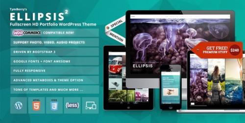 Ellipsis - Fullscreen HD Portfolio WordPress Theme