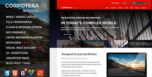 Corpotera - Responsive Multi-Purpose WordPress Theme