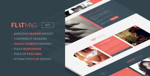 FlatMag - Flexible Modern Magazine Theme
