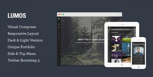 Lumos - Multipurpose Single, Multi-page WP Theme