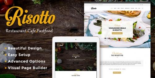 Risotto - WordPress Restaurant & Cafe Theme