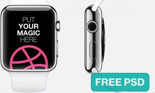 Apple Watch Free Template