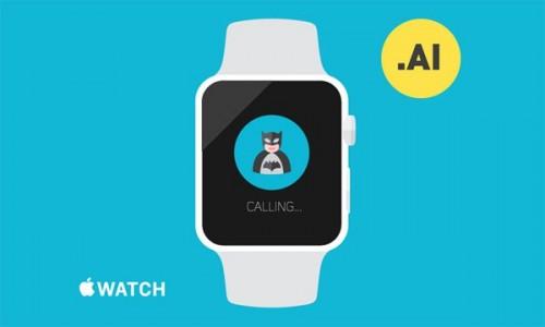 Creative Free Apple Watch Template