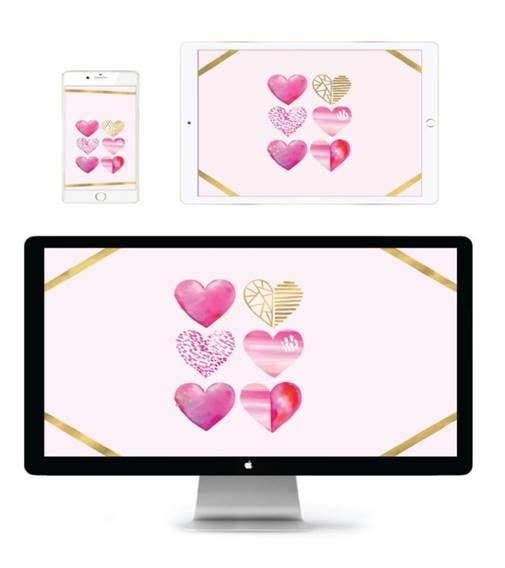 Show The Love With A Valentine S Themed Tech Wallpaper Or